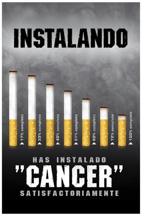 Ha dejado a fumar un fuerte vértigo